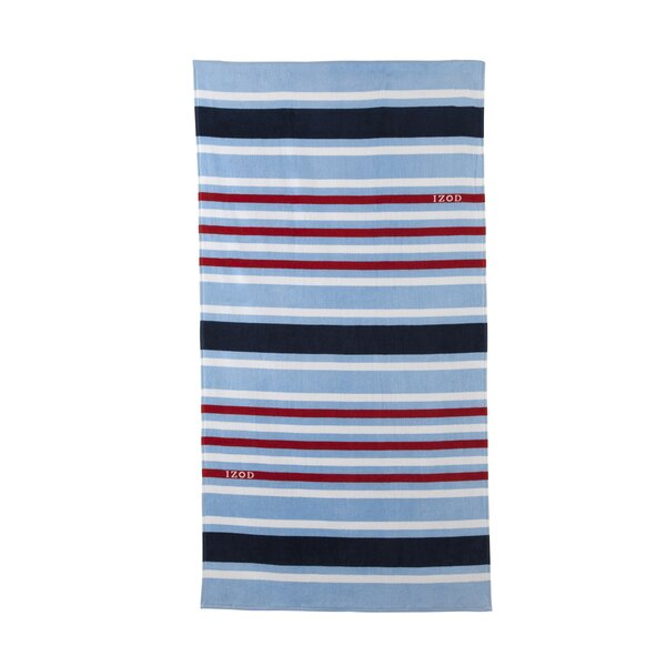Deconstructed 100% Cotton Beach Towel by IZOD